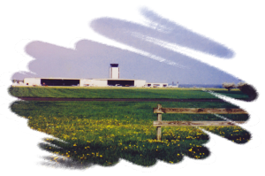 Hangar Across Field