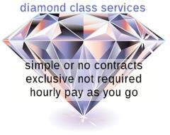 diamond class services